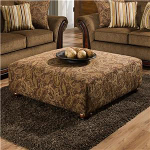 American Furniture 5650 Cocktail Ottoman