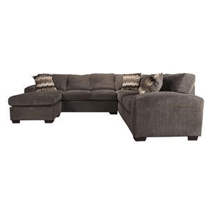 Cyndel Sectional Sofa with Accent Pillows