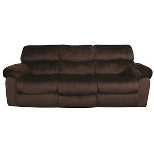 Morris Home Furnishings Mitchem Dakota Reclining Sofa with Drop Down Table
