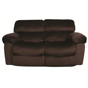 Morris Home Furnishings Mitchem Dakota Rocking Reclining Loveseat
