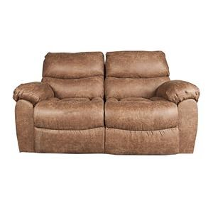 Morris Home Furnishings Dakota Mitchem Rocking Reclining Loveseat