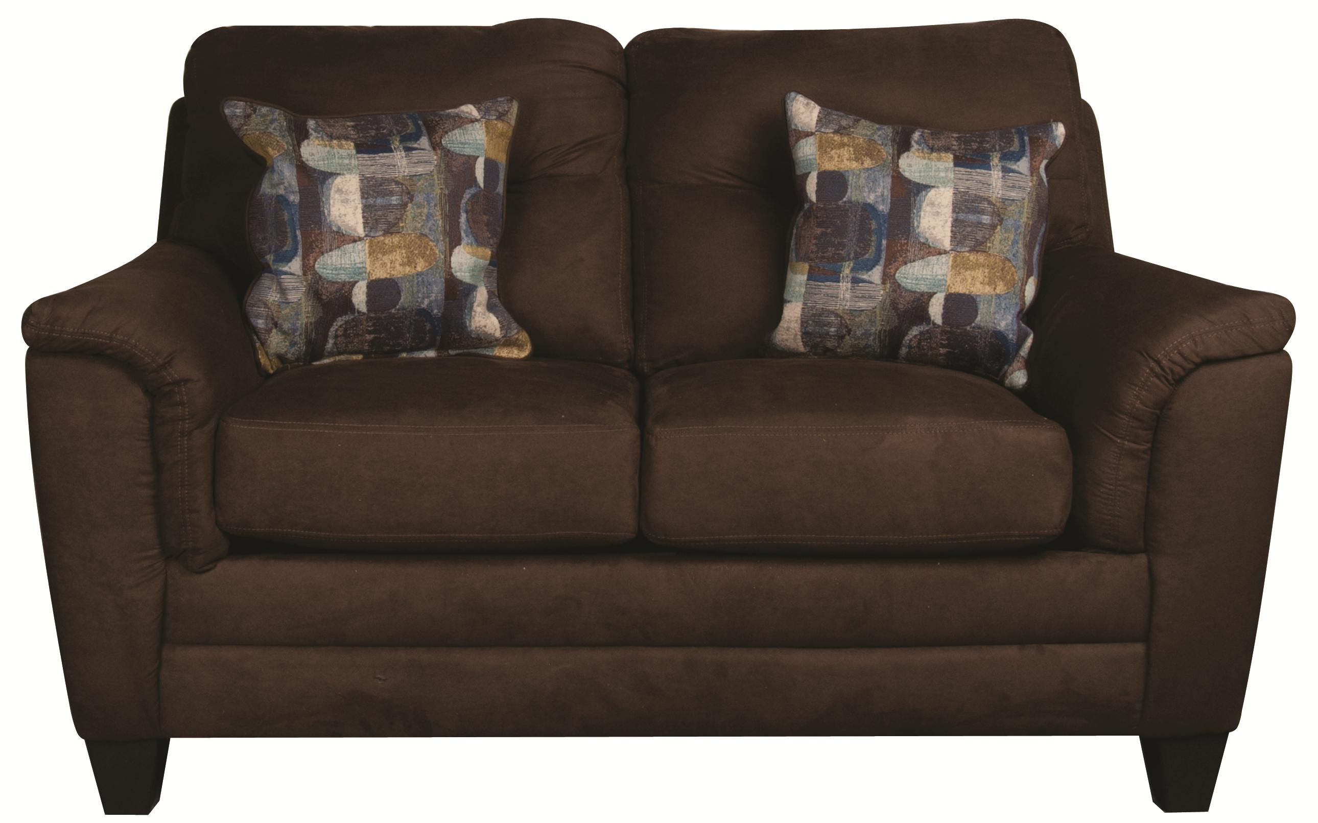 Morris Home Furnishings Edgar Edgar Loveseat - Item Number: 104820166