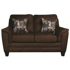 Morris Home Furnishings Edgar Edgar Loveseat