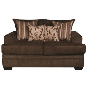 Morris Home Furnishings Eva Eva Loveseat