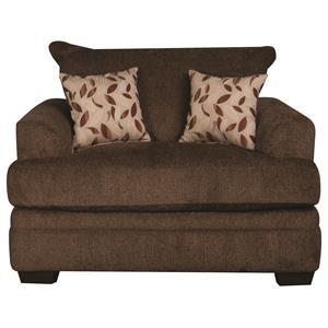 Morris Home Furnishings Eva Eva Chair and a Half