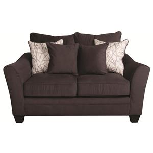 Morris Home Furnishings Rachel Rachel Loveseat