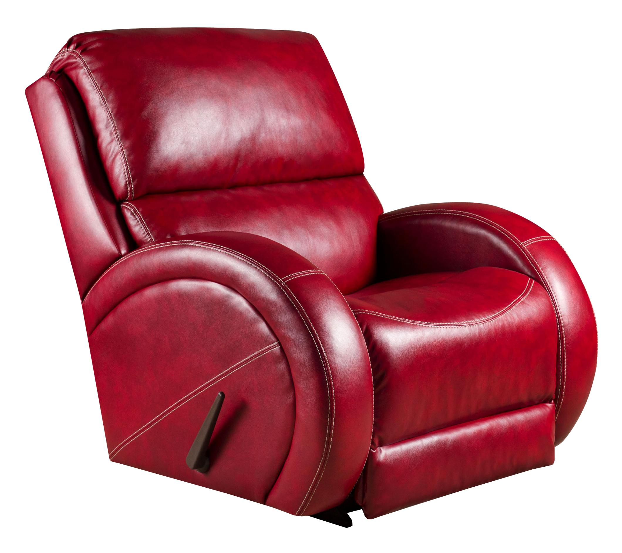 American furniture recliners rocker recliner with contemporary style van hill furniture - Stylish rocker recliner ...