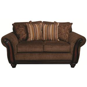 Morris Home Furnishings Samson Samson Loveseat