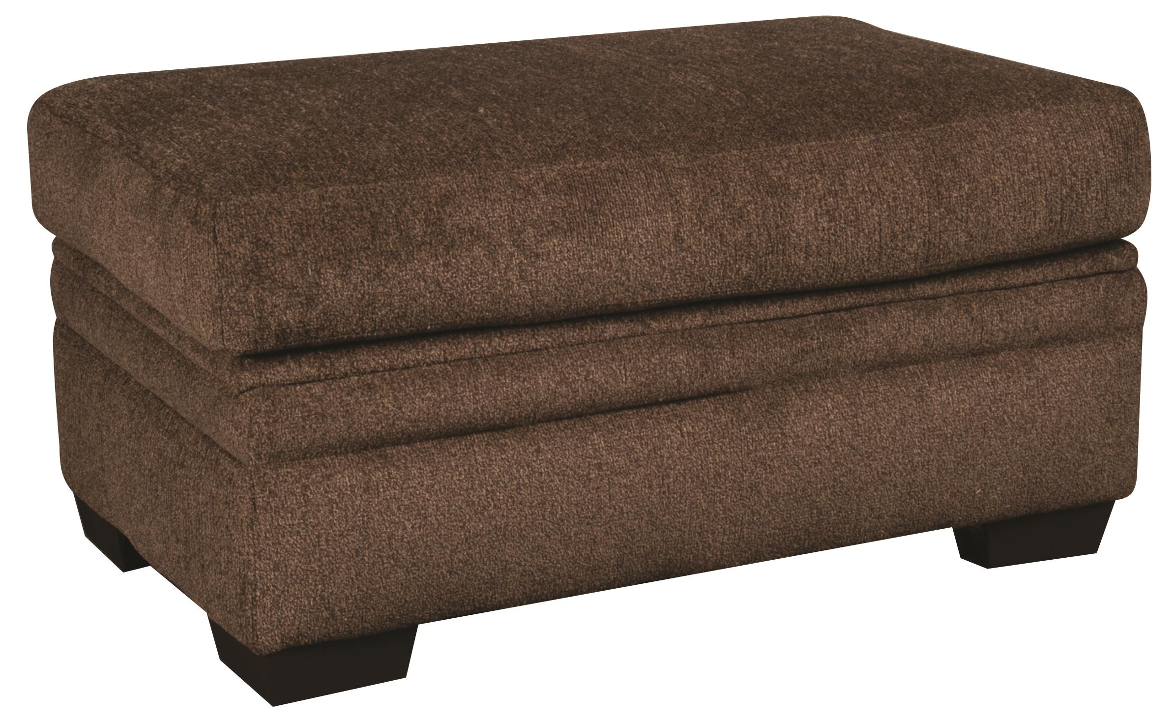 Morris Home Furnishings Walter Walter Cocktail Storage Ottoman - Item Number: 755528531