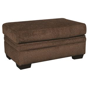 Morris Home Furnishings Walter Walter Cocktail Storage Ottoman