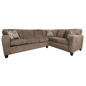 Morris Home Furnishings Wilson Wilson 2-Piece Sectional