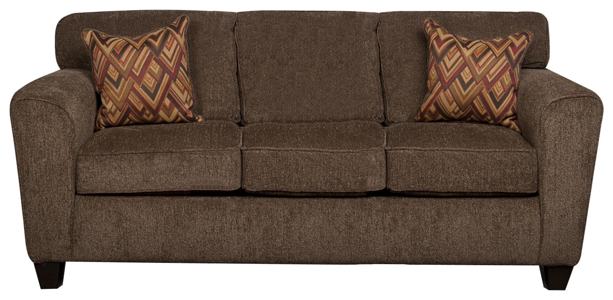 Wilson Wilson Sofa with Accent Pillows by Peak Living at Morris Home