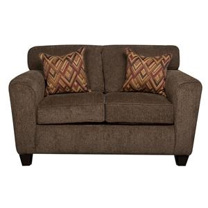 Morris Home Furnishings Wilson - Wilson Contemporary Loveseat