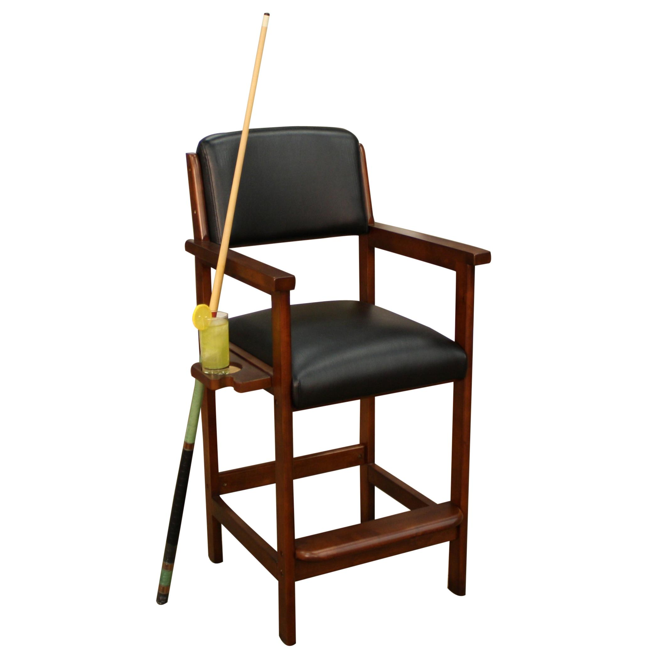 Artero St. Paul Spectator Chair With Side Cup Holder By American Heritage  Billiards
