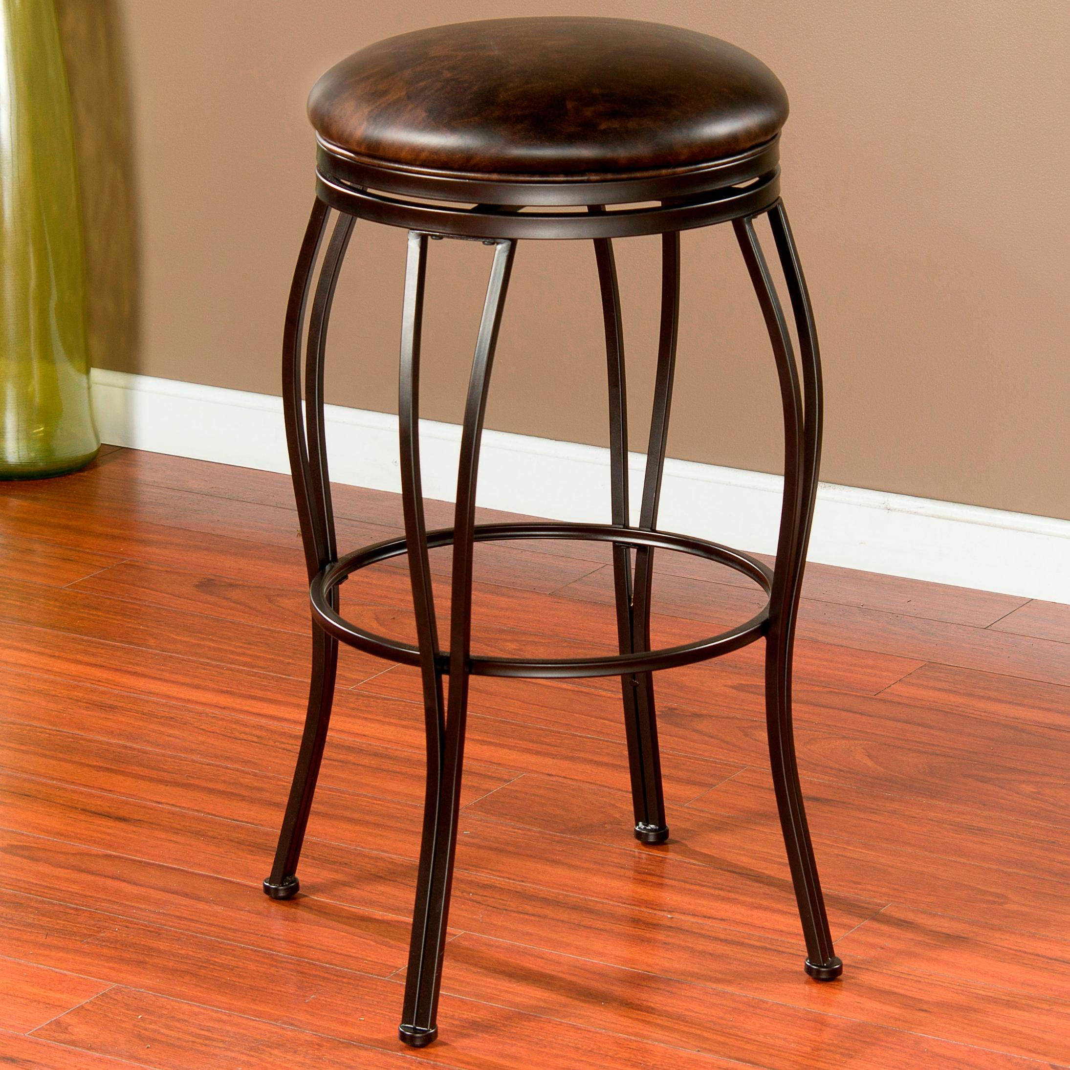 "American Heritage Billiards Bar Stools 26"" Romano Bar Stool - Item Number: 124941CC"