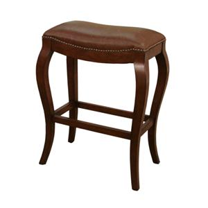 "30"" Suede Emilio Bar Stool"