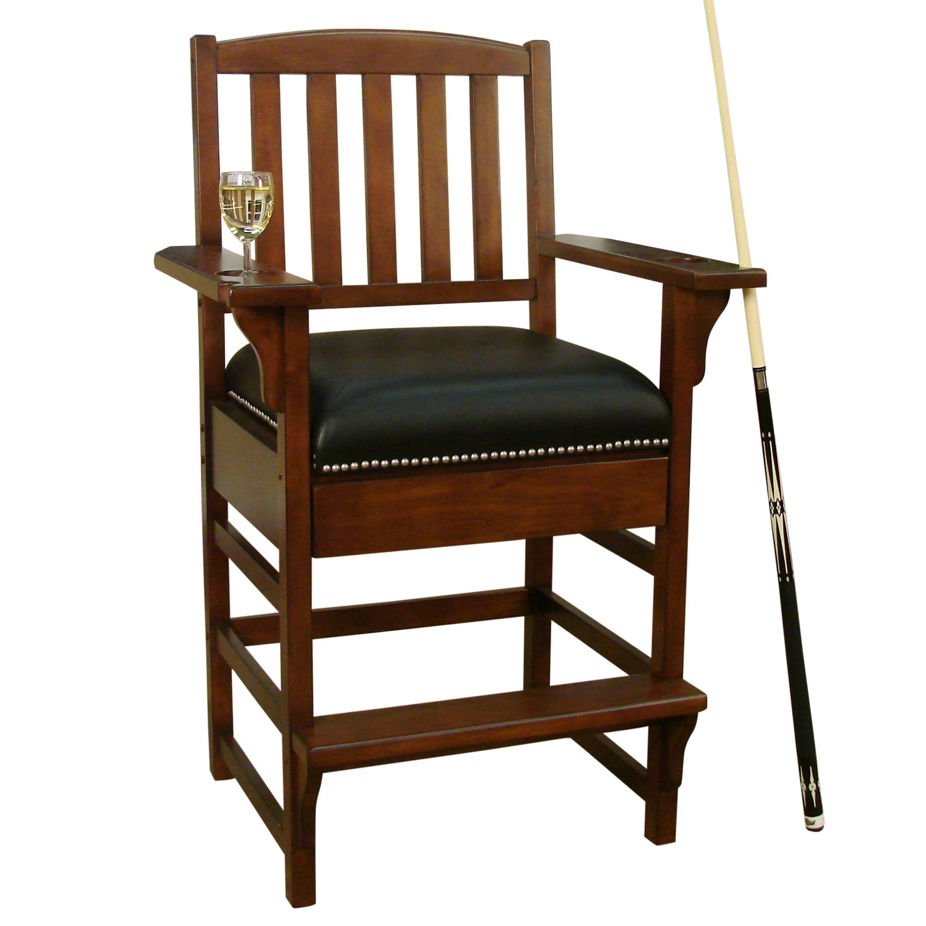American Heritage Billiards Camden King Chair - Item Number: 100610SD