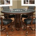 American Heritage Billiards Camden Hustler Game Table with Flip-Top Dining and Game Playing Surface
