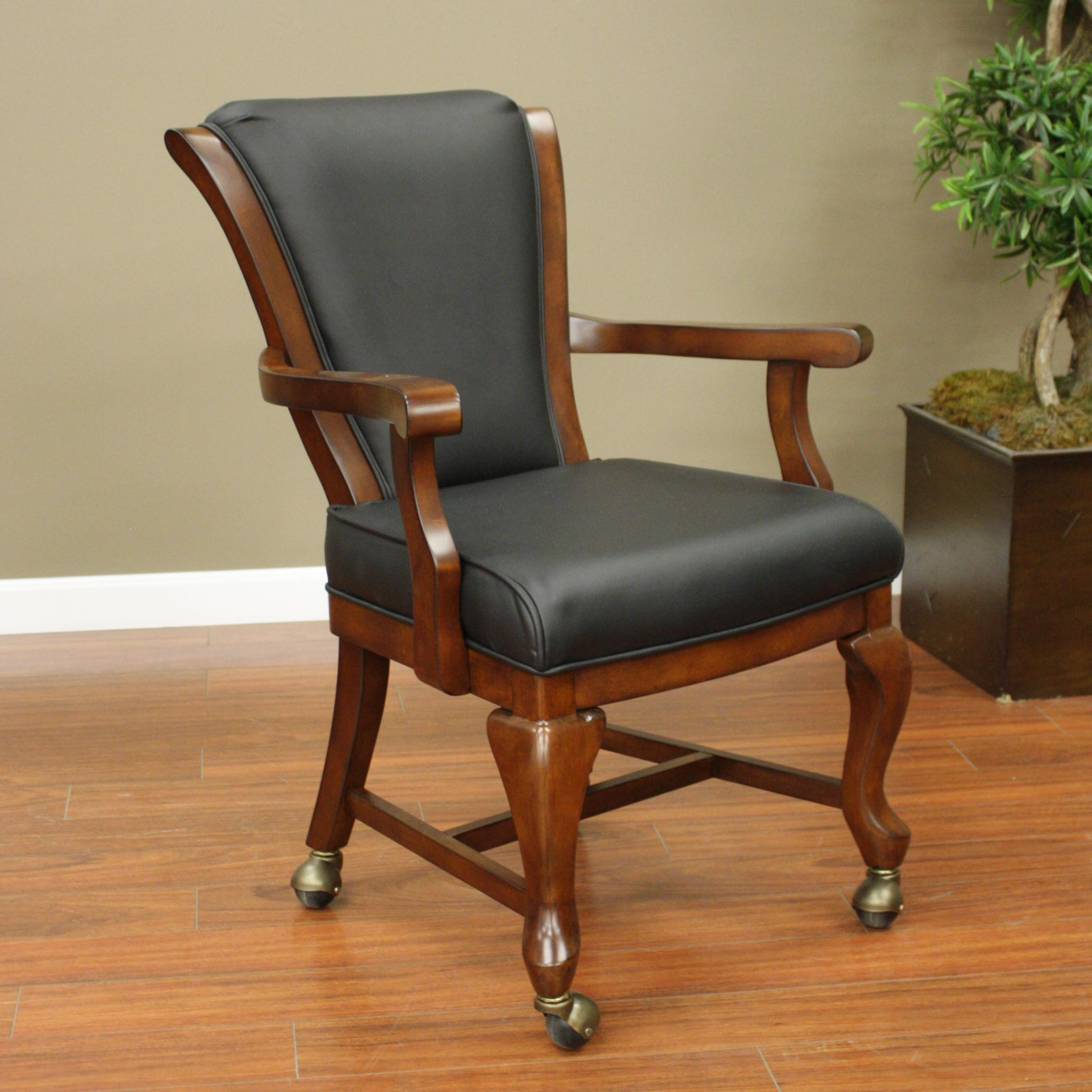 American Heritage Billiards Camden Game Chair - Item Number: 100716SD-C