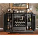 American Heritage Billiards Carlotta Bar Cabinet