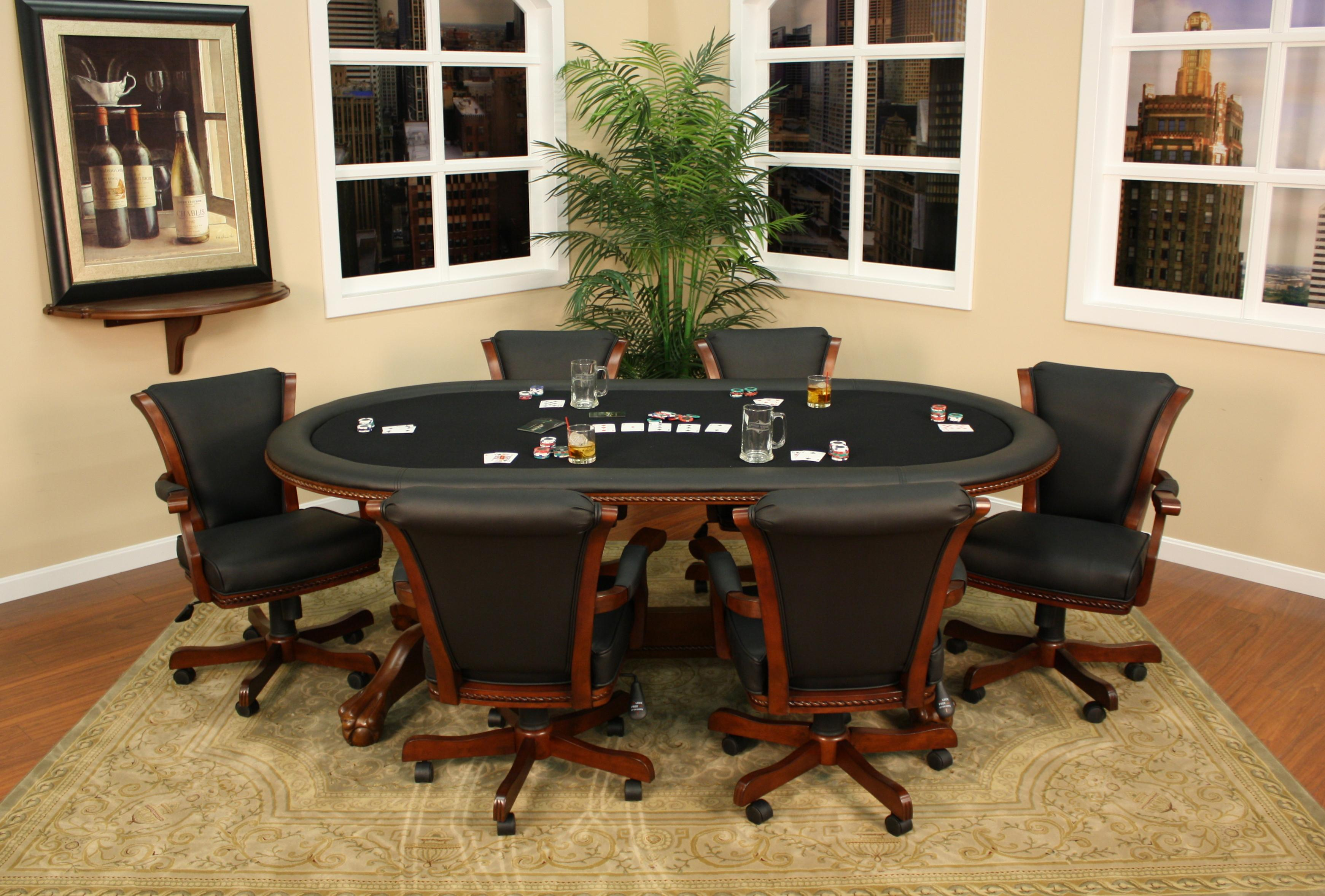 American Heritage Billiards High Stakes 7 Piece Game Table