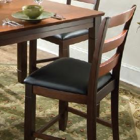 Melrose Ladder Back Pub Chair by American Heritage Billiards