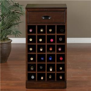 American Heritage Billiards Natalia Wine Unit