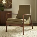 American Leather Aaron Accent Chair - Item Number: ARO-CHR-ST Brown