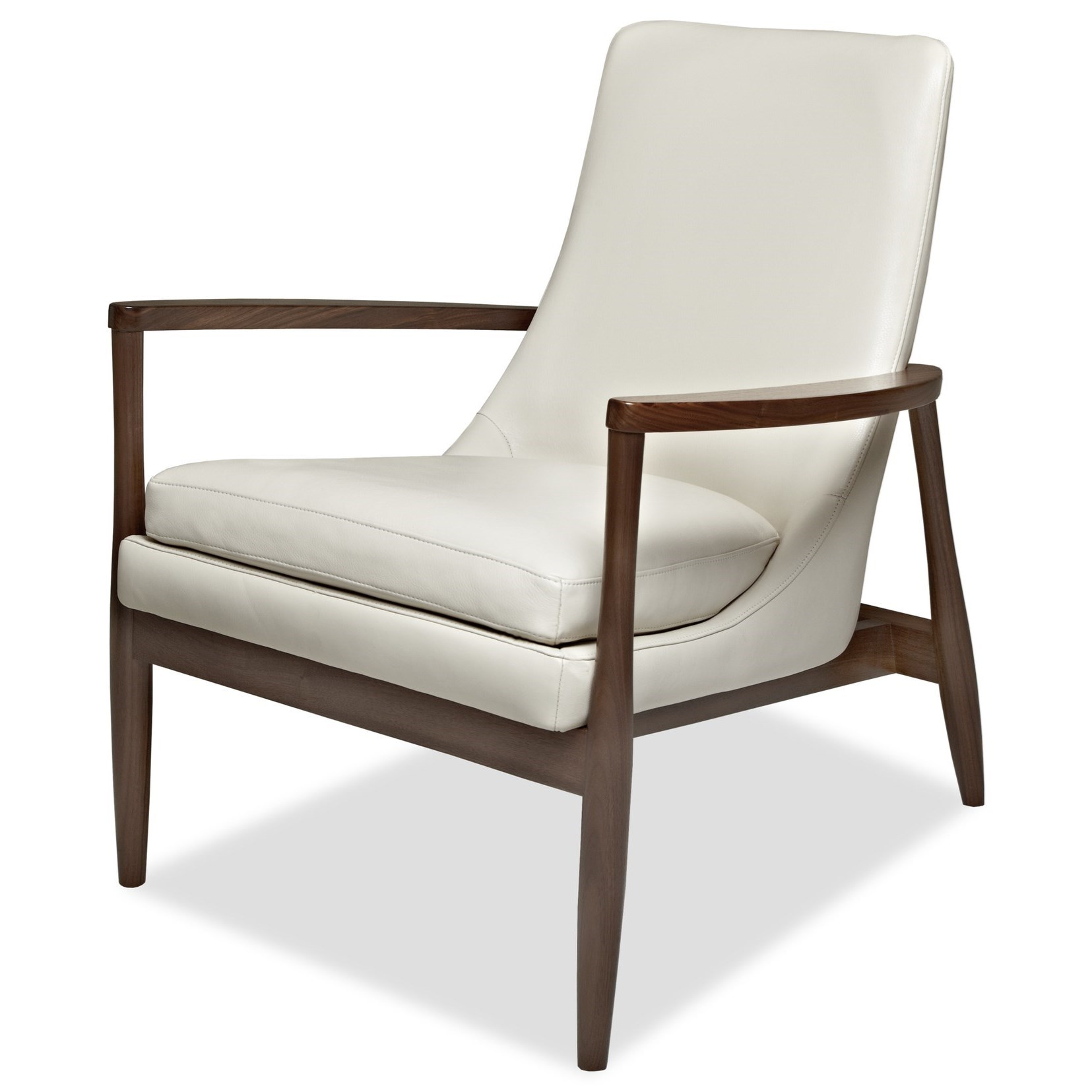 Aaron Accent Chair by American Leather at Williams & Kay