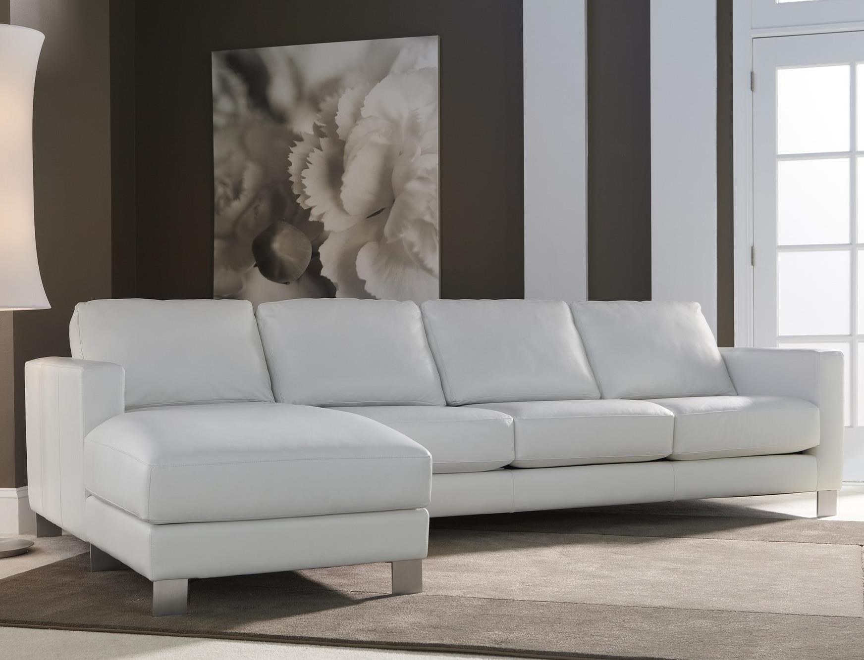 Alessandro Sofa with Chaise by American Leather at Sprintz Furniture