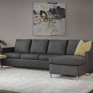 American Leather Breckin Chaise Sofa