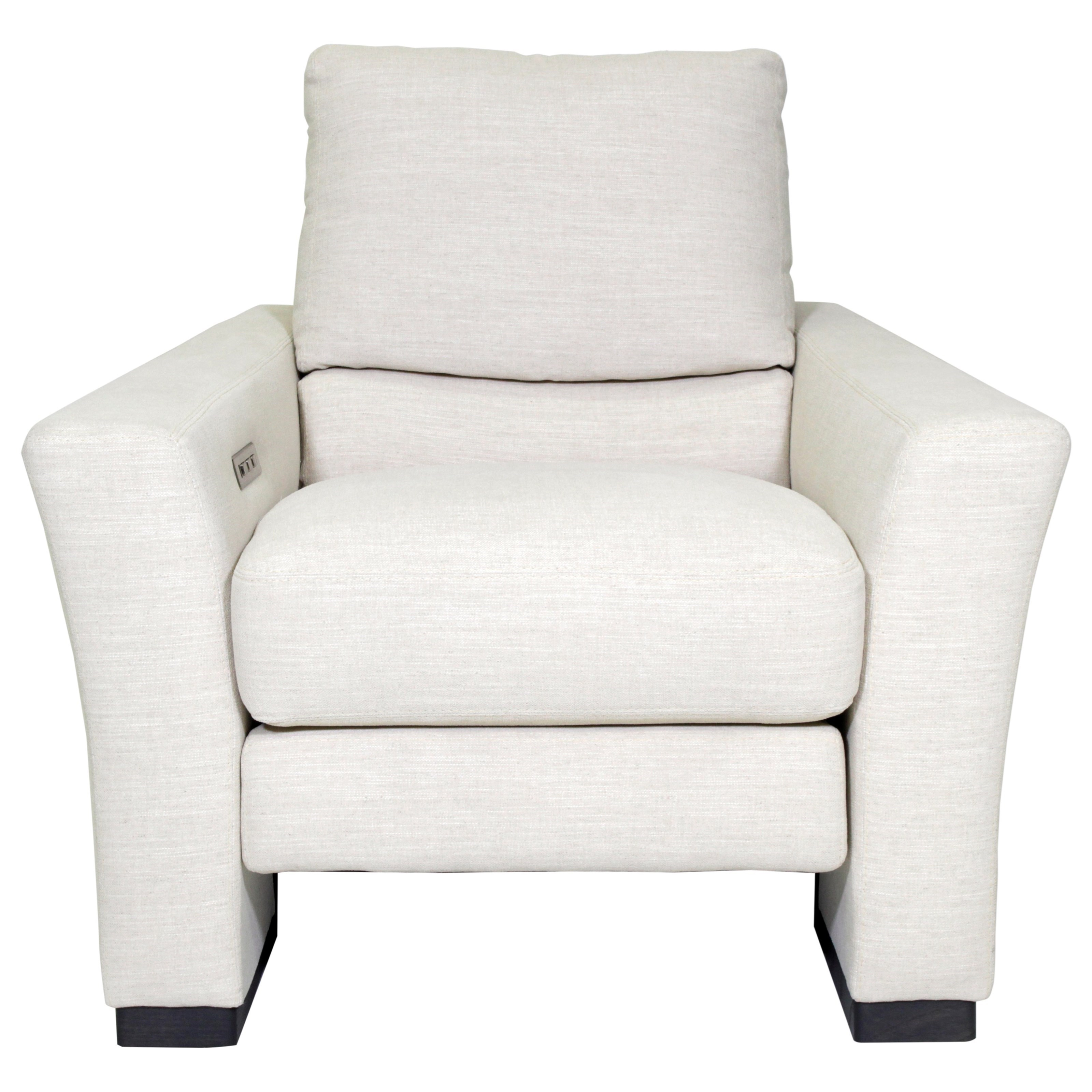 American Leather Bryant Modern Power Reclining Chair With