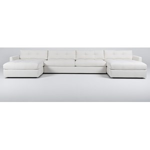 Sectional with 2 Chaises