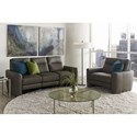 American Leather Chelsea - Style in Motion Reclining Living Room Group - Item Number: CLS Living Room Group 1