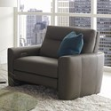 American Leather Chelsea - Style in Motion Power Reclining Chair and a Half - Item Number: CLS-CH2-ST Earl Grey