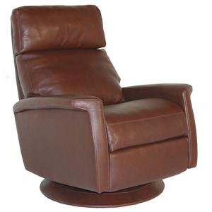 American Leather Comfort Recliner   Finley Contemporary Recliner