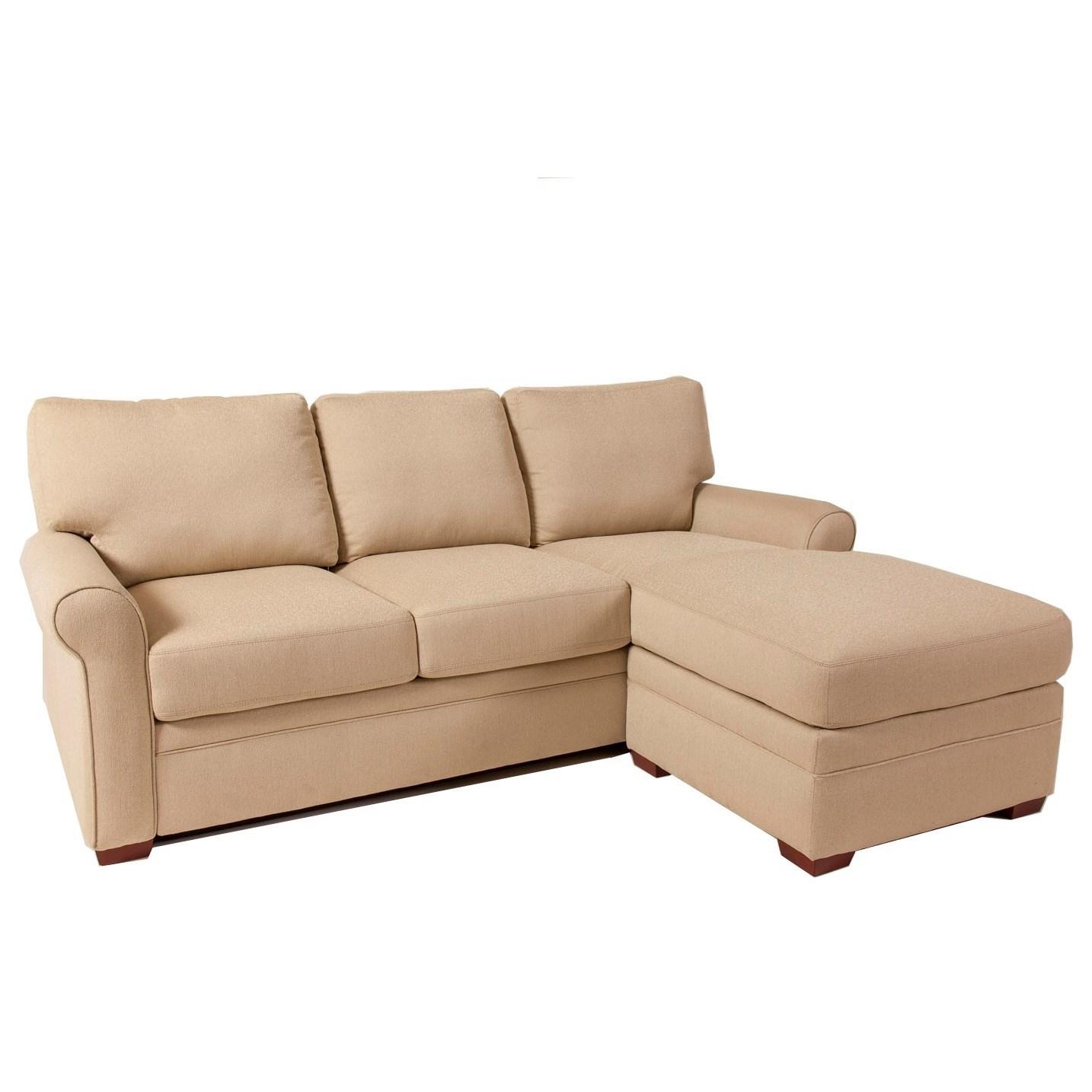 American Leather Comfort Sleeper Gina Queen Gel Foam