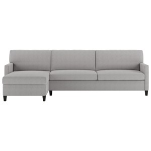 2 Pc Sectional Sofa w/ Sleeper & RAS Chaise
