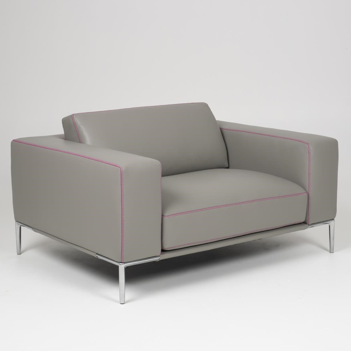Copenhagen Chair and a Half by American Leather at Baer's Furniture