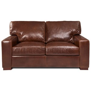 Contemporary Loveseat with Deep Seats