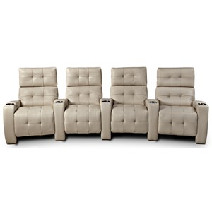 Contemporary Power Reclining Theater Seating