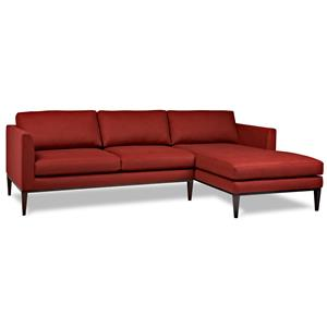 American Leather Henley Sectional Sofa