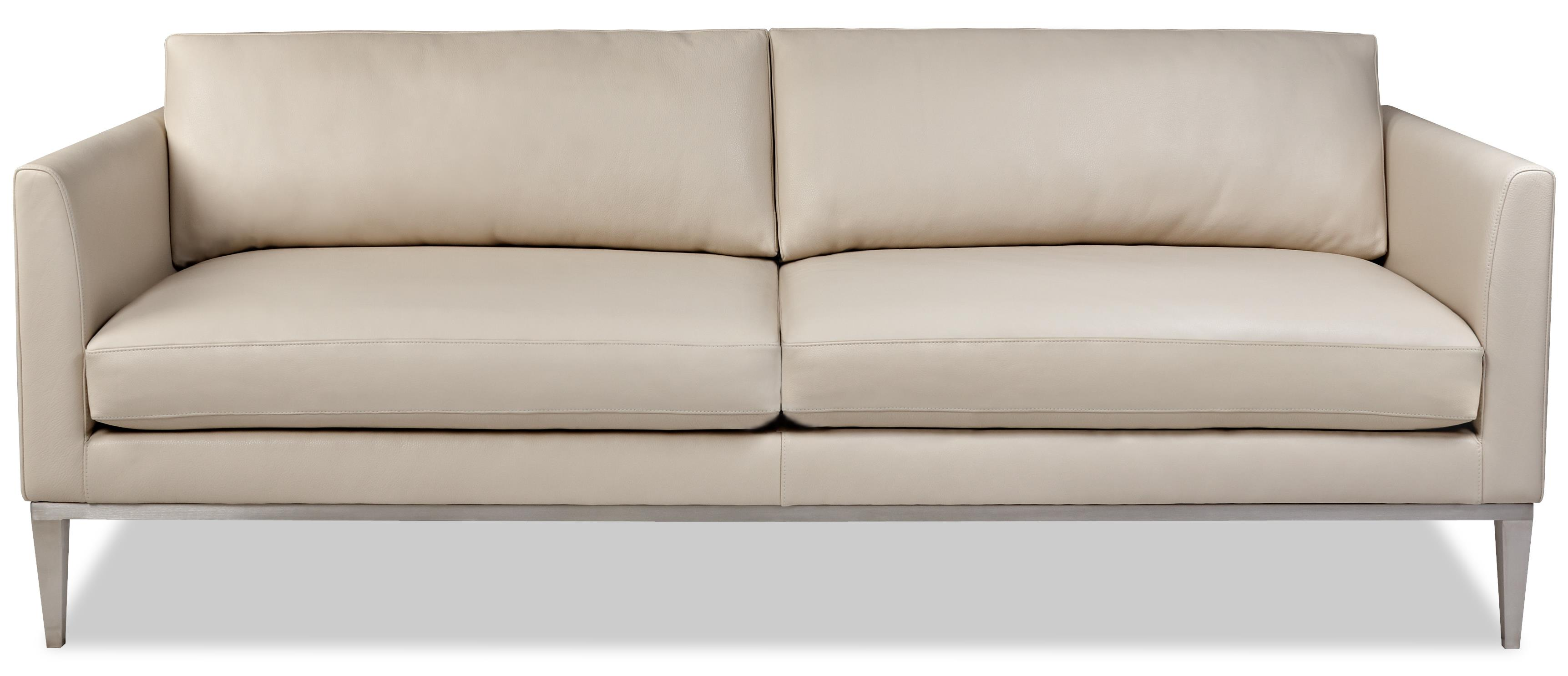 American Leather Henley Contemporary Sofa With High Leg