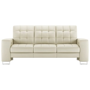 Contemporary Power Reclining Sofa with USB Port