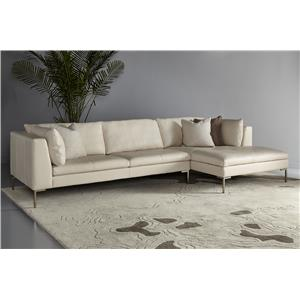 American Leather Inspiration Sectional Sofa