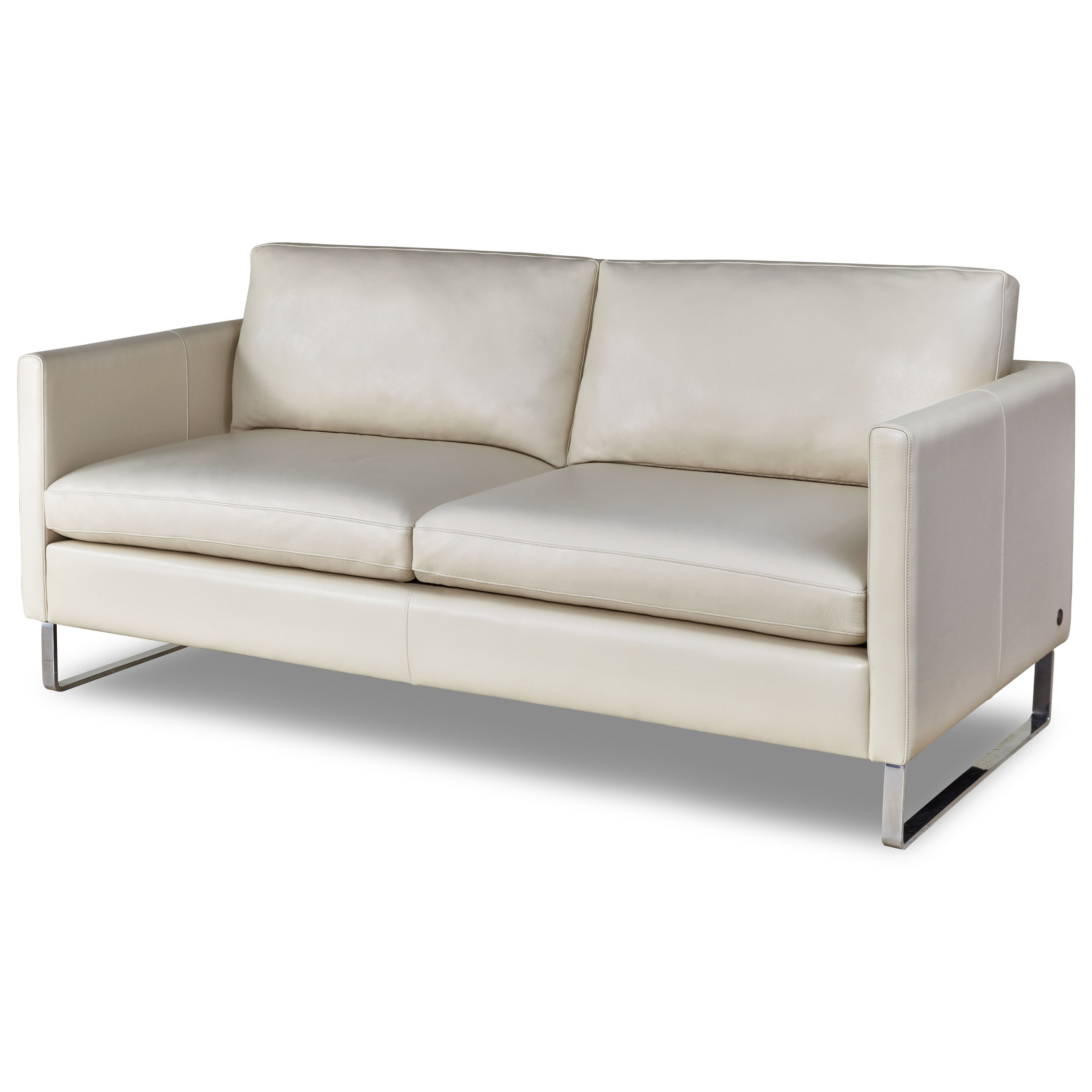 American Leather Milo Modern 2 Seater Sofa With