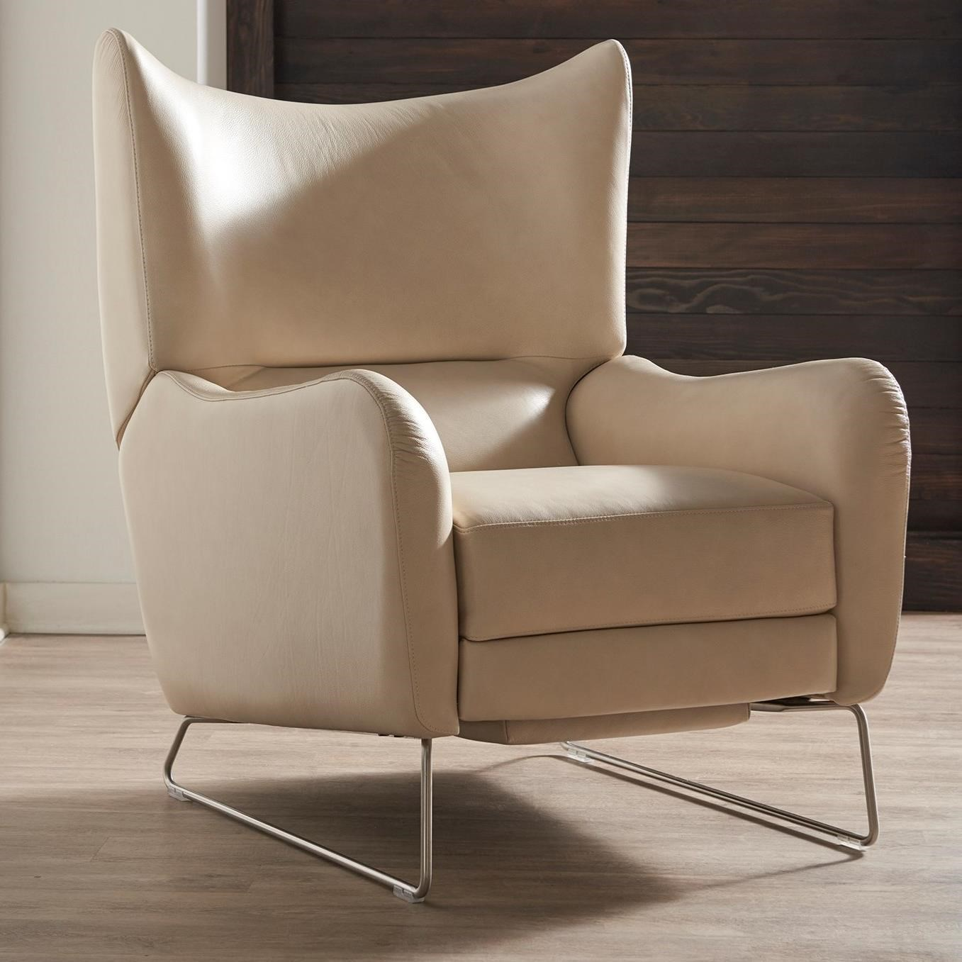 Neeson Push Back Reclining Chair by American Leather at Baer's Furniture