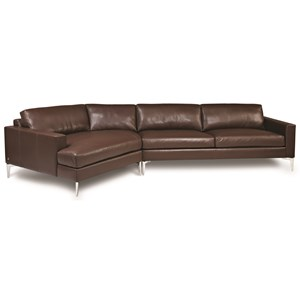 3-Seat Sectional Sofa w/ RAS Cuddler