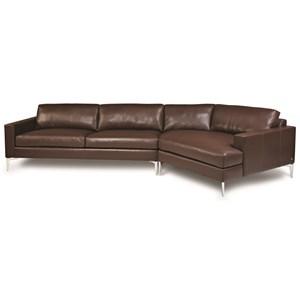 3-Seat Sectional Sofa w/ LAS Cuddler