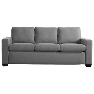 American Leather Porter Queen Sleeper Sofa Zero Wall
